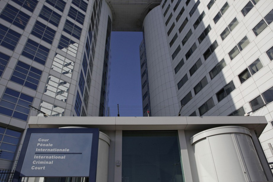 Façade de la Cour pénale internationale à La... (PHoto ARCHIVES AP)