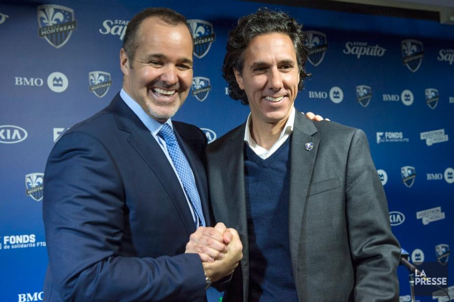 Le président de l'Impact de Montréal, Joey Saputo,... (Photo Paul Chiasson, PC)