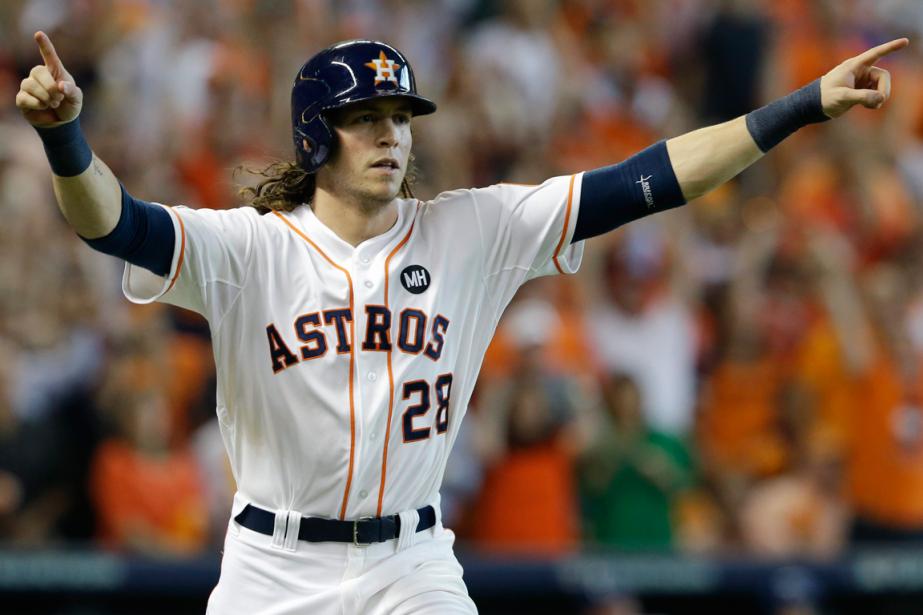 Le voltigeur des Astros de Houston Colby Rasmus... (Photo Pat Sullivan, AP)