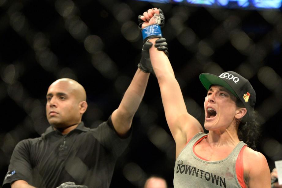 Valérie Létourneau disputera samedi soir son quatrième combat... (PHOTO ERIC BOLTE, ARCHIVES USA TODAY SPORTS)