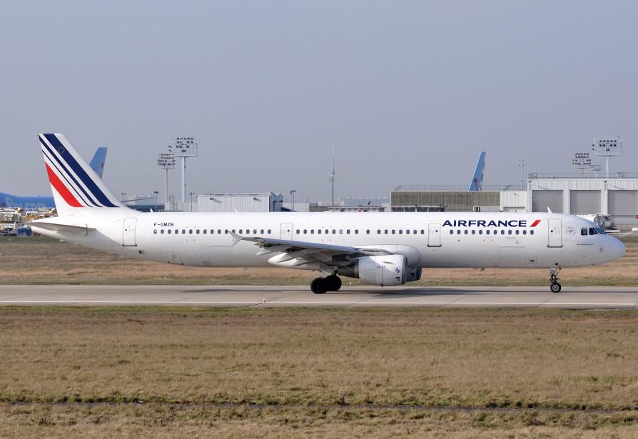 Un Airbus A321 semblable à celui impliqué.... (PHOTO WIKIPÉDIA)