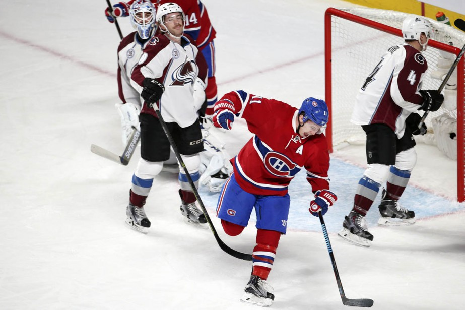 Brendan Gallagher a marqué le seul but du Canadien. (Photo Robert Skinner, La Presse)