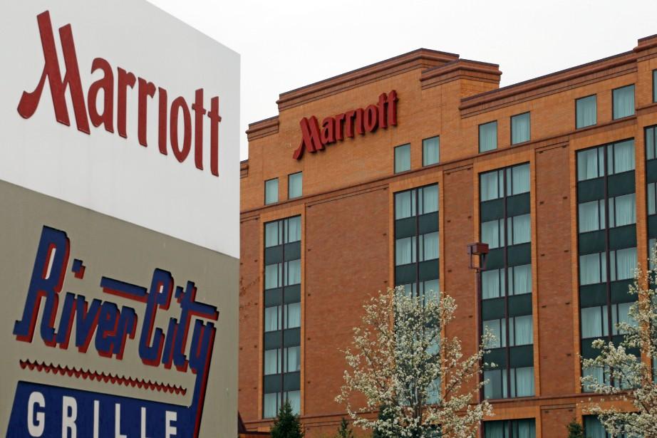 La fusion entre les deux chaînes d'hôtels Marriott... (Photo AP)