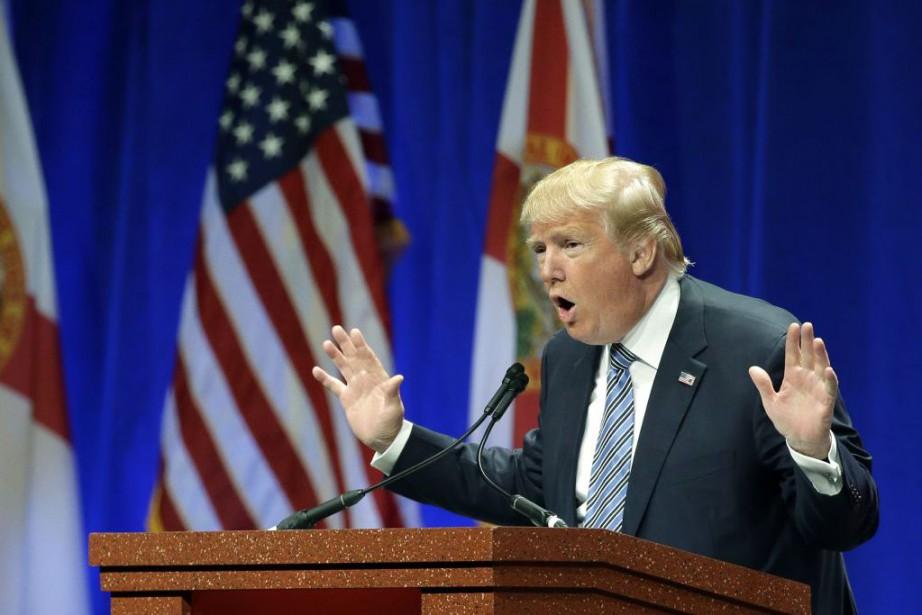 Donald Trump a mis en avant la «vaste... (Associated Press, John Raoux)