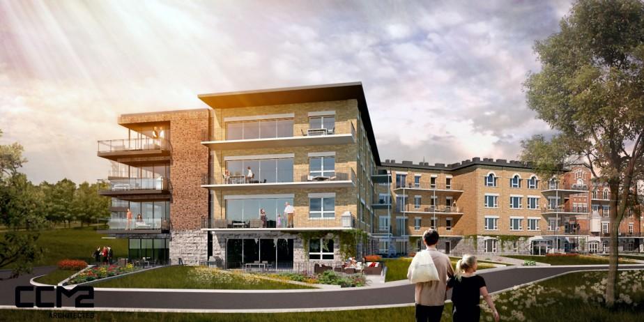 Le projet devra recevoir l'aval du ministère de la Culture et de la Commission d'urbanisme de Québec. (fournie par CCM2 Architectes)