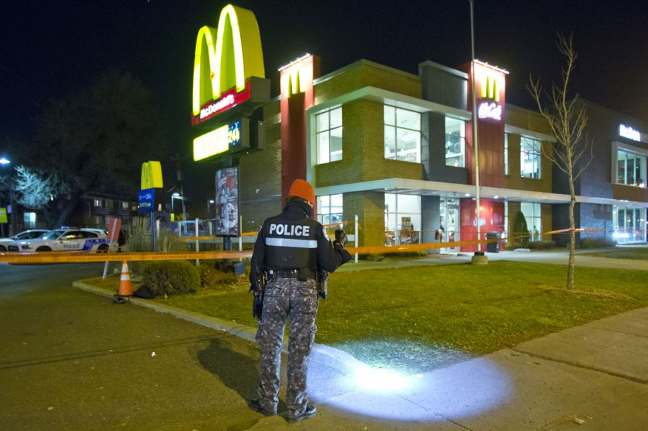 L'incident s'est produitau coin des rues Villeray et... (PHOTO FÉLIX O.J. FOURNIER, COLLABORATION SPECIALE)