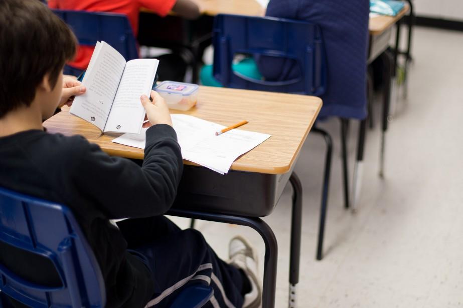 «Les compressions dans l'éducation véhiculent un message toxique:celui... (PHOTO SARAH MONGEAU-BIRKETT, ARCHIVES LA PRESSE)