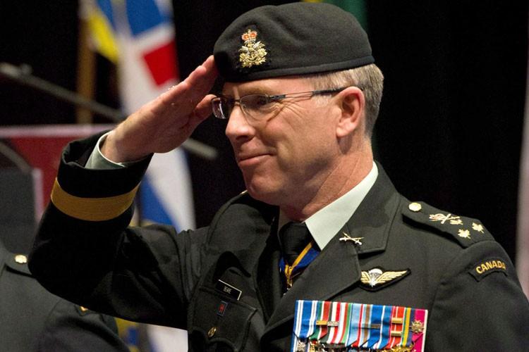 Stuart Beare fut le commandant adjoint lorsque l'OTAN... (ARCHIVES PC)