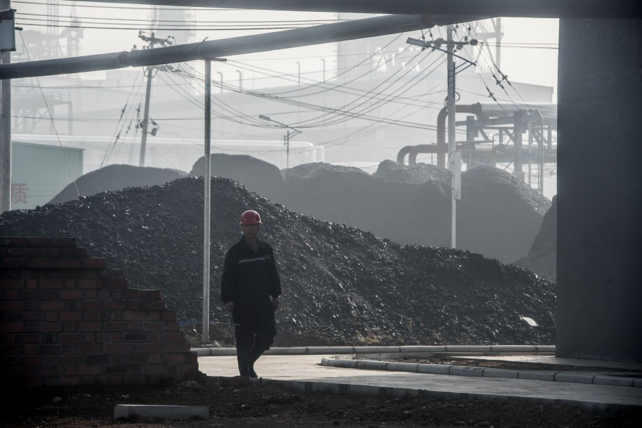 Le site géant de liquéfaction de charbon à... (Photo AFP)