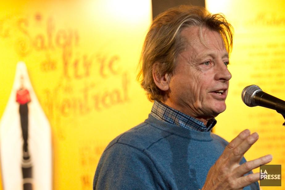 Georges-Hébert Germain au Salon du livre de Montréal... (Photo Hugo-Sébastien Aubert, archives La Presse)