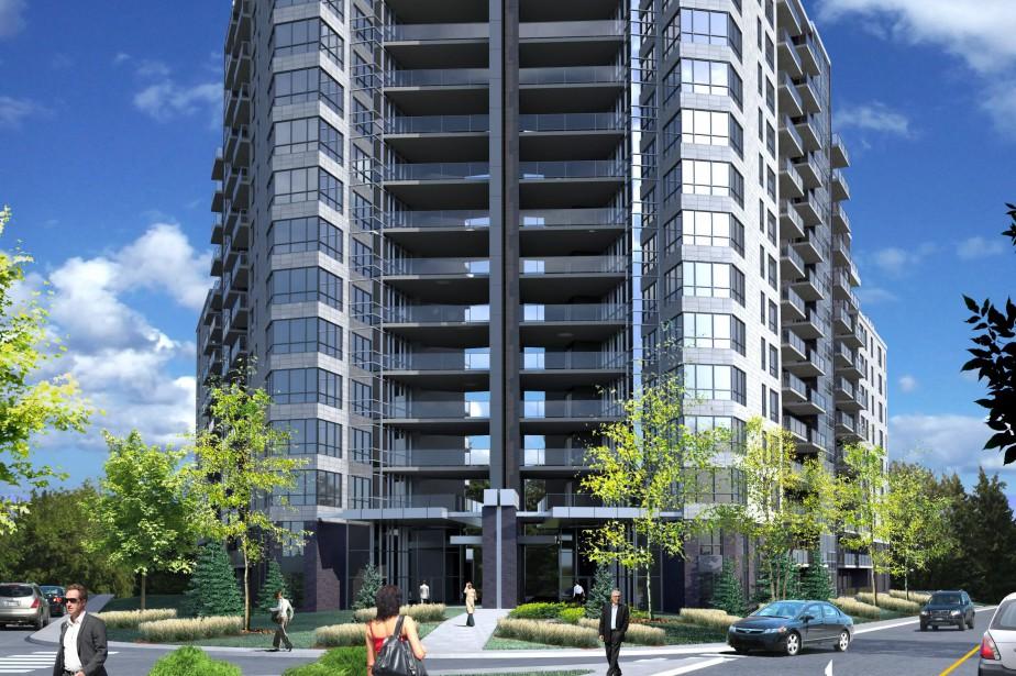 Le projet EQ8 Cité urbaine LaSalle... (ILLUSTRATION FOURNIE PAR RABIH KHAZAKA ARCHITECTE)