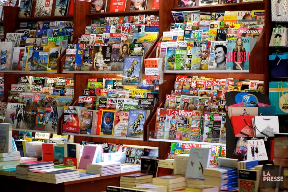 TVA publications détient un portefeuille de 60 magazines,... (PHOTO SARAH MONGEAU-BIRKETT, LA PRESSE)