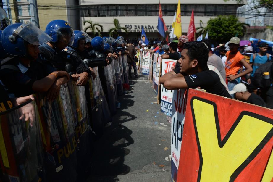 Les incidents se sont produits au moment où... (Photo Punit PARANJPE, AFP)