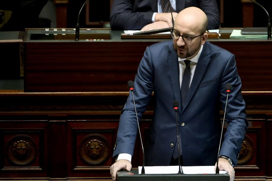 Le premier ministre belge Charles Michel... (PHOTO AGENCE FRANCE-PRESSE)