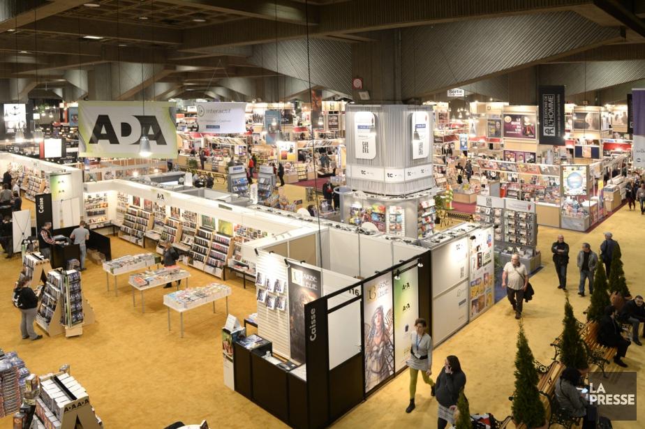 Le 38e Salon du livre de Montréal a... (PHOTO BERNARD BRAULT, LA PRESSE)