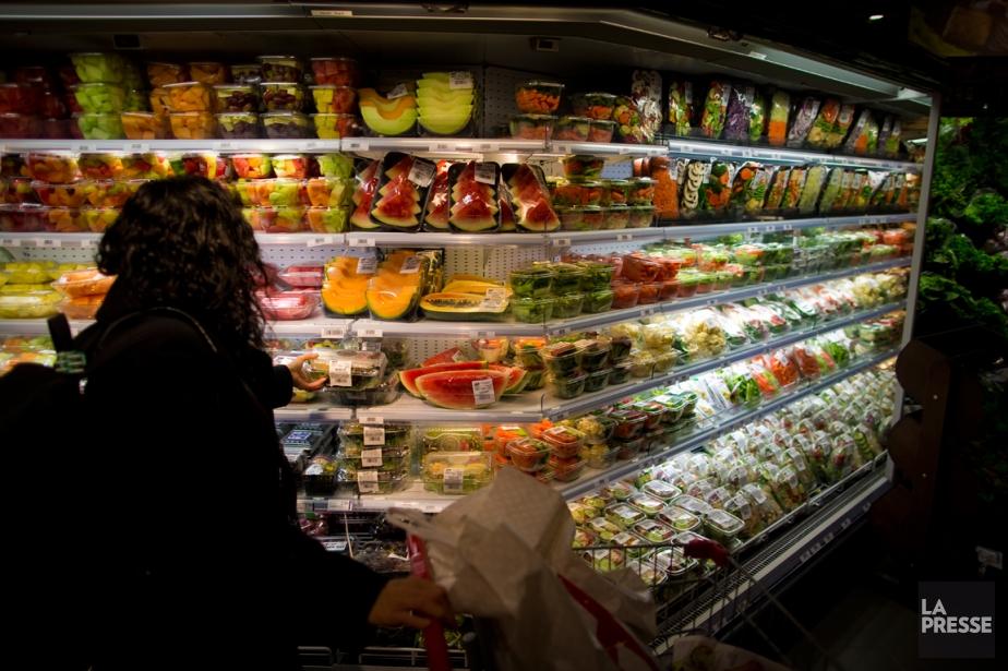 Selon Statistique Canada, cette hausse constante de l'inflation... (PHOTO ANDRÉ PICHETTE, ARCHIVES LA PRESSE)