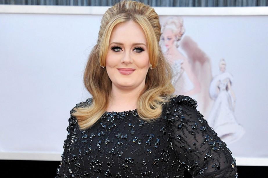 La chanteuse britannique Adele a choisi de ne pas diffuser... (PHOTO ARCHIVES AP)