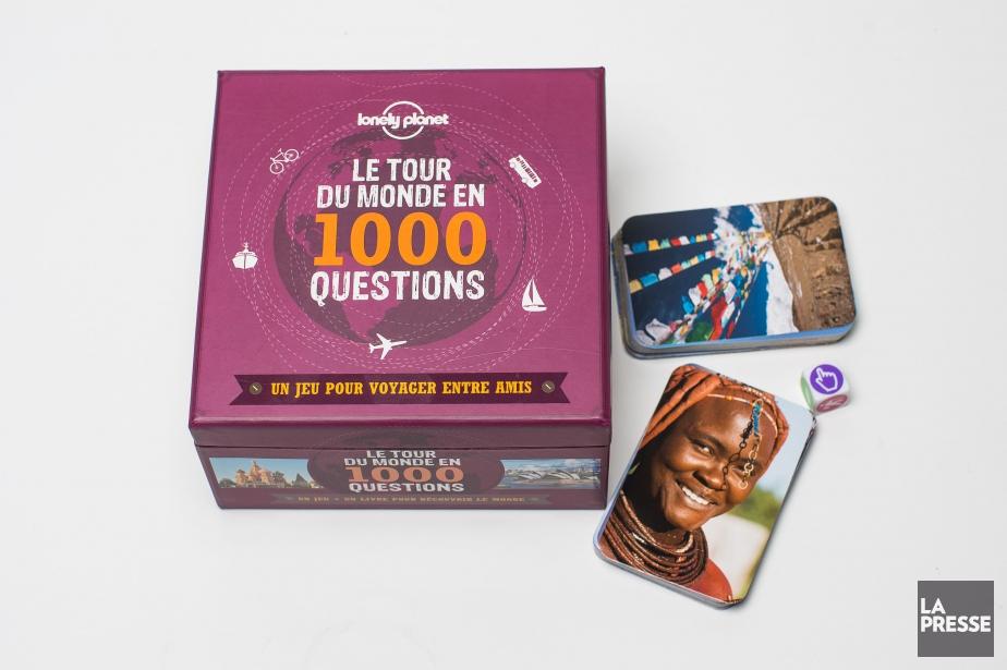 Le jeuLe Tour du monde en 1000 questions.... (PHOTO OLIVIER PONTBRIAND, LA PRESSE)