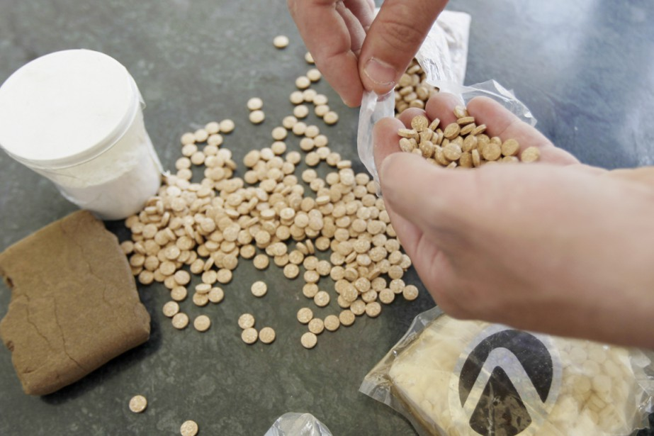 Le Captagon est une drogue à base d'amphétamine... (PHOTO JOSEPH EID, AFP)
