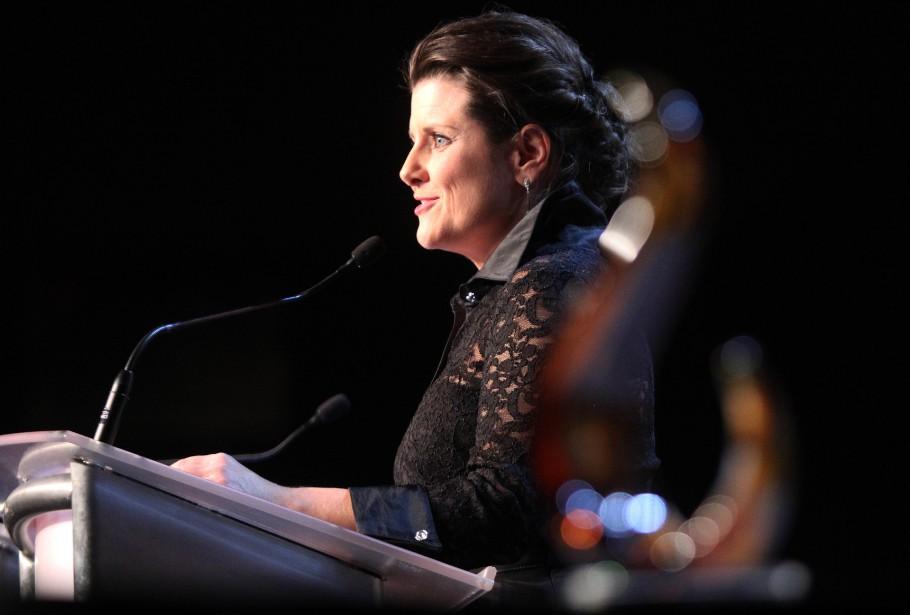 La ministre québécoise de la Justice et députée de Gatineau, Stéphanie Vallée (Étienne Ranger, LeDroit)