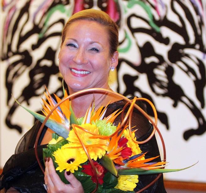 Anne-Marie Éthier a été désignée Personnalité de l'année 2015. (Étienne Ranger, LeDroit)