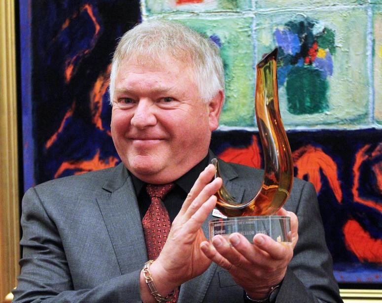 L'entreprise d'Alain Raymond, Les Toitures Raymond, est la Grande entreprise de l'année. (Étienne Ranger, LeDroit)