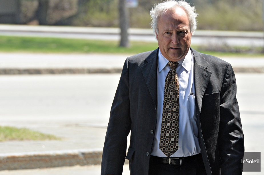 Le juge Michel Girouard est menacé de destitution.... (PHOTO PATRICE LAROCHE, ARCHIVES LE SOLEIL)