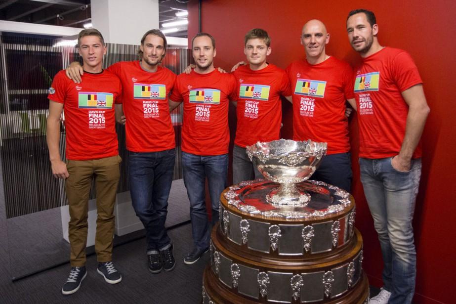 Les membres de l'équipe de Coupe Davis de... (Photo Delmi Alvarez, Reuters)