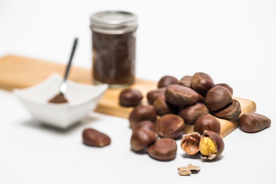 La crème de marrons peut être préparée à... (PHOTO OLIVIER PONTBRIAND, LA PRESSE)