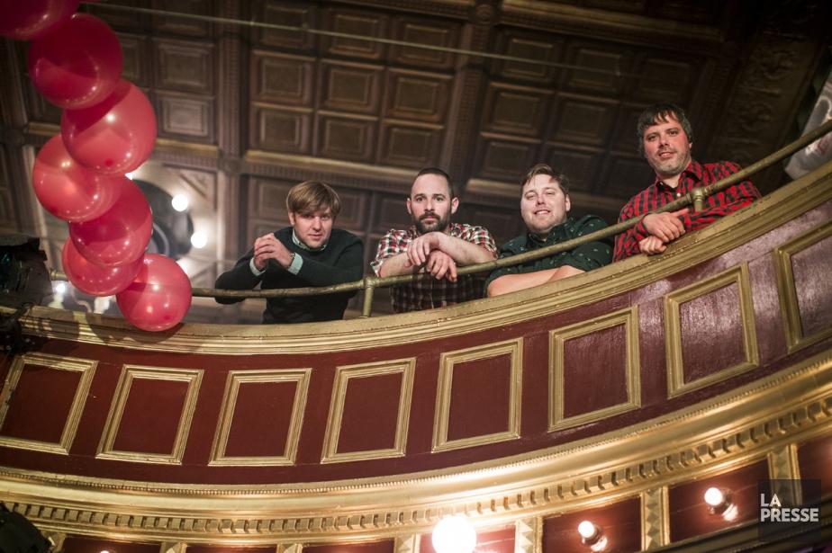 Les Trois Accords présentent un nouvel album beaucoup... (PHOTO OLIVIER PONTBRIAND, LA PRESSE)