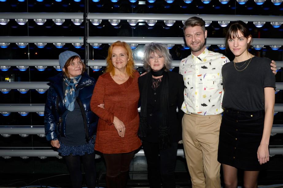 Diane Tell, Marie Denise Pelletier, Pierre Lapointe et... (PHOTO BERNARD BRAULT, LA PRESSE)