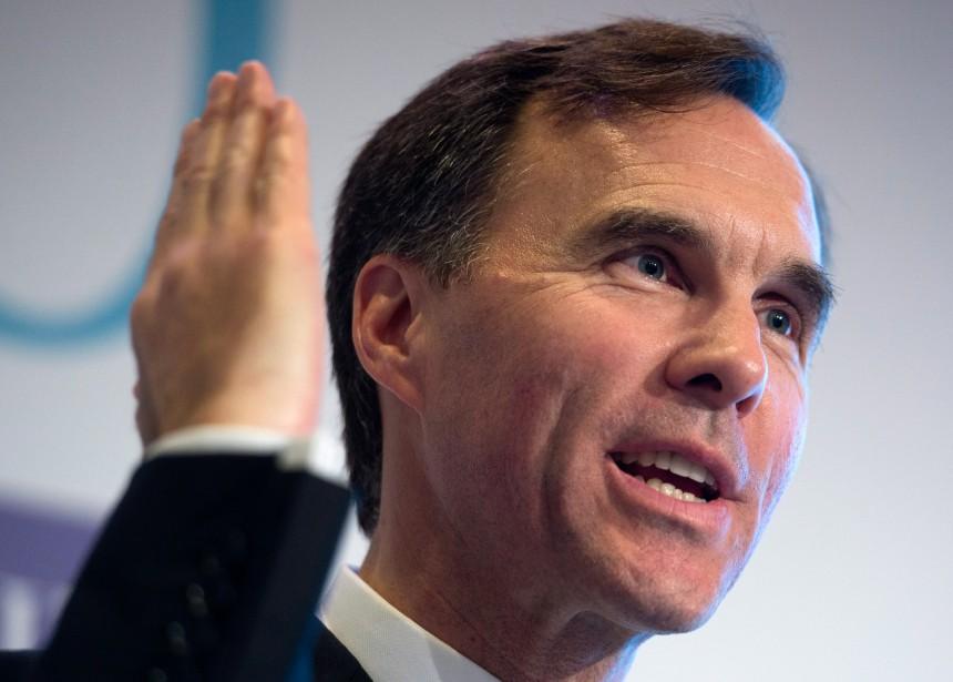 «C'est, pour le ministre des Finances Bill Morneau,... (PHOTO SEAN KILPATRICK, LA PRESSE CANADIENNE)