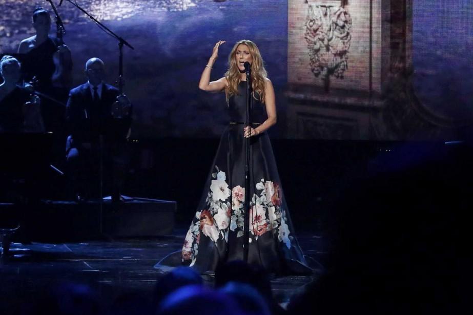 Céline Dion a interprété L'hymne à l'amour d'Édith... (PHOTO REUTERS)