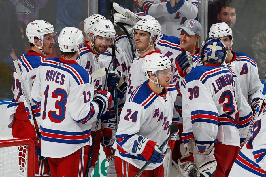 Les Rangers de New York ont remporté13 de... (Photo Joel Auerbach, AP)