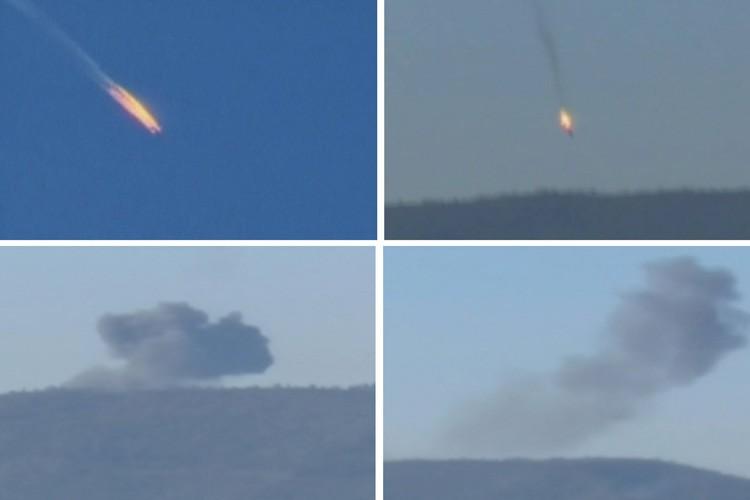 Les deux pilotes ont pu s'éjecter avant l'écrasementet... (PHOTO REUTERS)