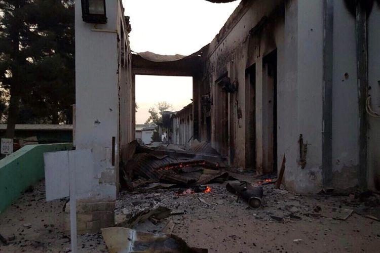 L'hôpital de Médecins sans Frontièresà Kunduz a été... (PHOTO ARCHIVES ASSOCIATED PRESS)