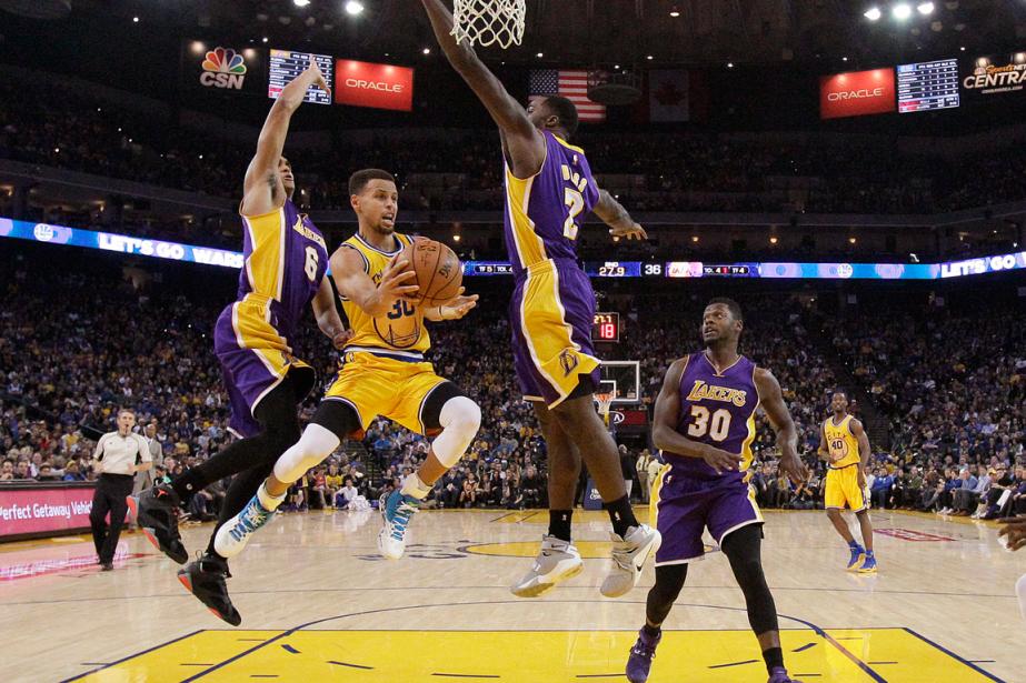 Les Warriors de Golden State ont remporté une... (Photo Jeff Chiu, AP)