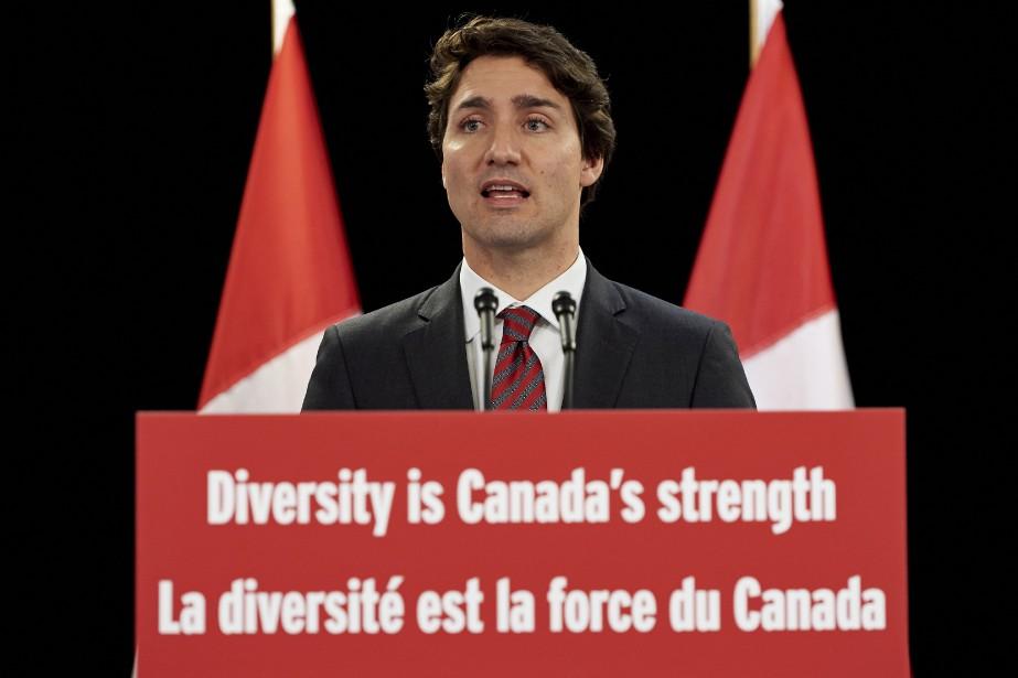 Le premier ministre du Canada, Justin Trudeau... (PHOTO NIKLAS HALLE'N, AFP)