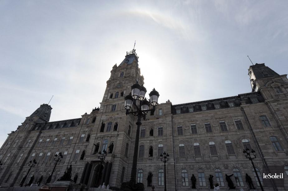 L'Assemblée nationale pourrait... (Photo Erick Labbé, archives Le Soleil)