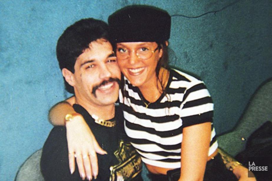 Cette photographie de Serge Quesnel et son amie,... (Photo d'archives)