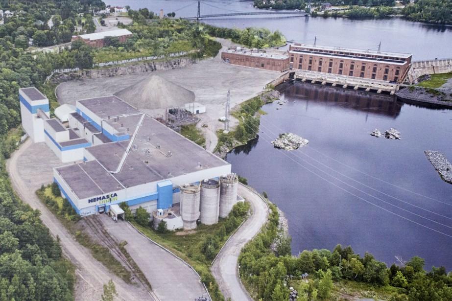 Ex usine laurentide nemaska lithium sur le terrain en for Papeterie drummondville