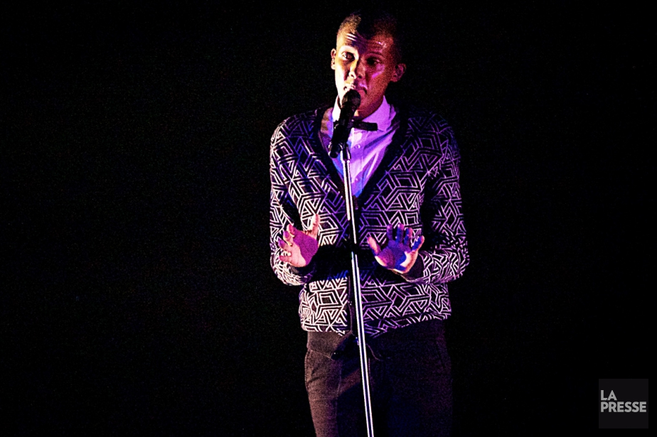 Stromae lors d'un spectacle au Centre Bell.... (PHOTO ANDRÉ PICHETTE, ARCHIVES LA PRESSE)