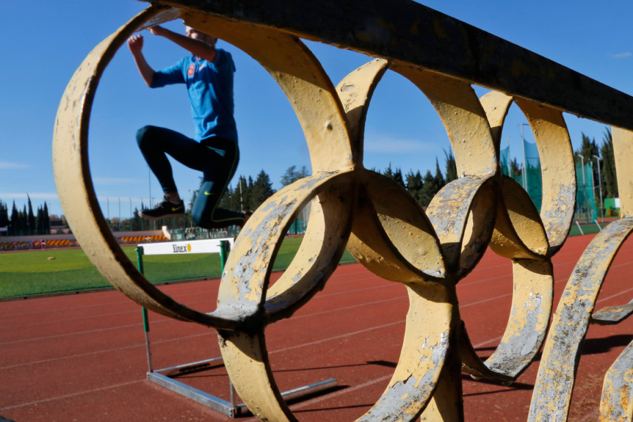 L'IAAF, qui gère l'athlétisme international, a suspendu la... (Archives, Associated Press)