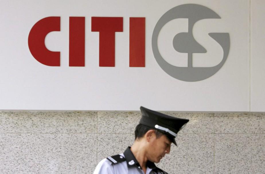 La firme Citic a expliqué avoir été prévenue... (PHOTO ALY SONG, REUTERS)