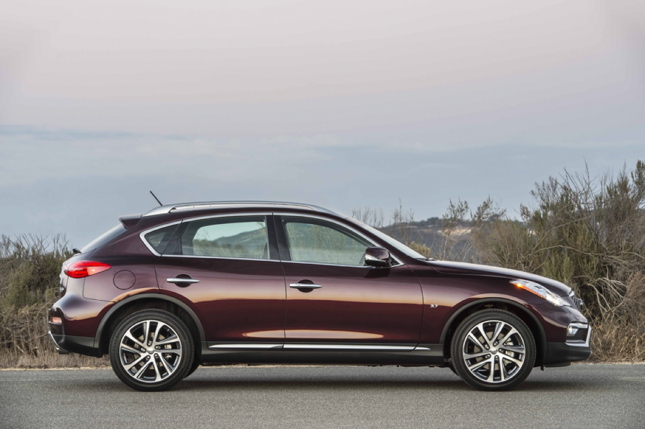 L'Infiniti QX50 (Photo fournie par Infiniti)