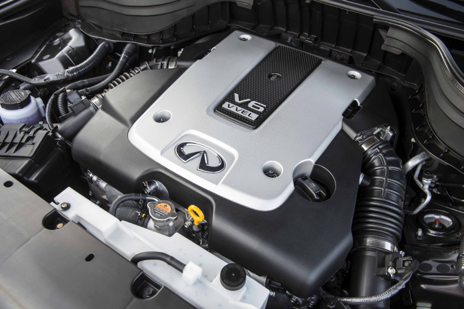 Le moteur V6 atmosphérique de 3,7 L de l'Infiniti QX50 (Photo fournie par Infiniti)