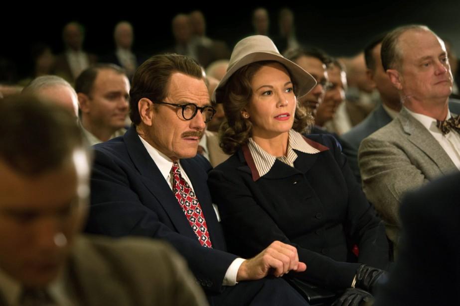 Bryan Cranston et Diane Lane dans Trumbo.... (PHOTO AP)