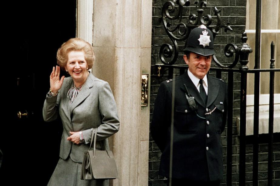 Margaret Thatchercontrôlait soigneusement son image de femme de... (PHOTO DENNIS REDMAN, ARCHIVES AP)