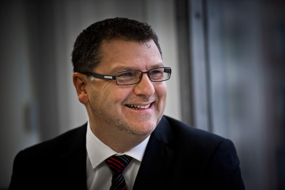 Vincent Lecorne est directeur général du Centre de... (PHOTO PATRICK SANFAÇON, LA PRESSE)