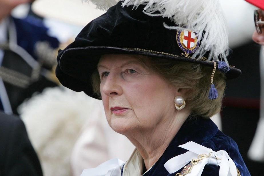 Margaret Thatcher, en juin 2006.... (Photothèque, Associated Press, Tim Ockenden)